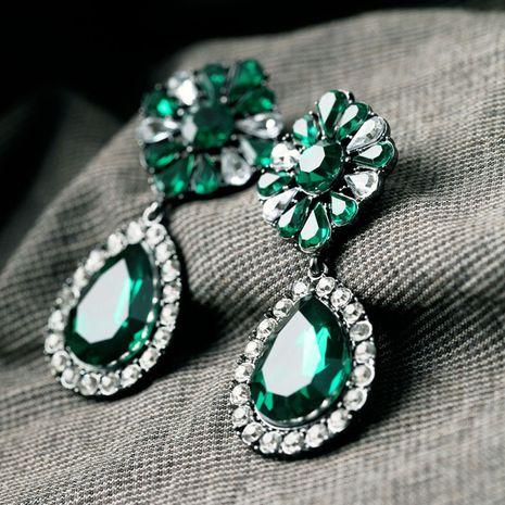 Alloy Fashion Geometric earring  (green) NHQD4526-green's discount tags