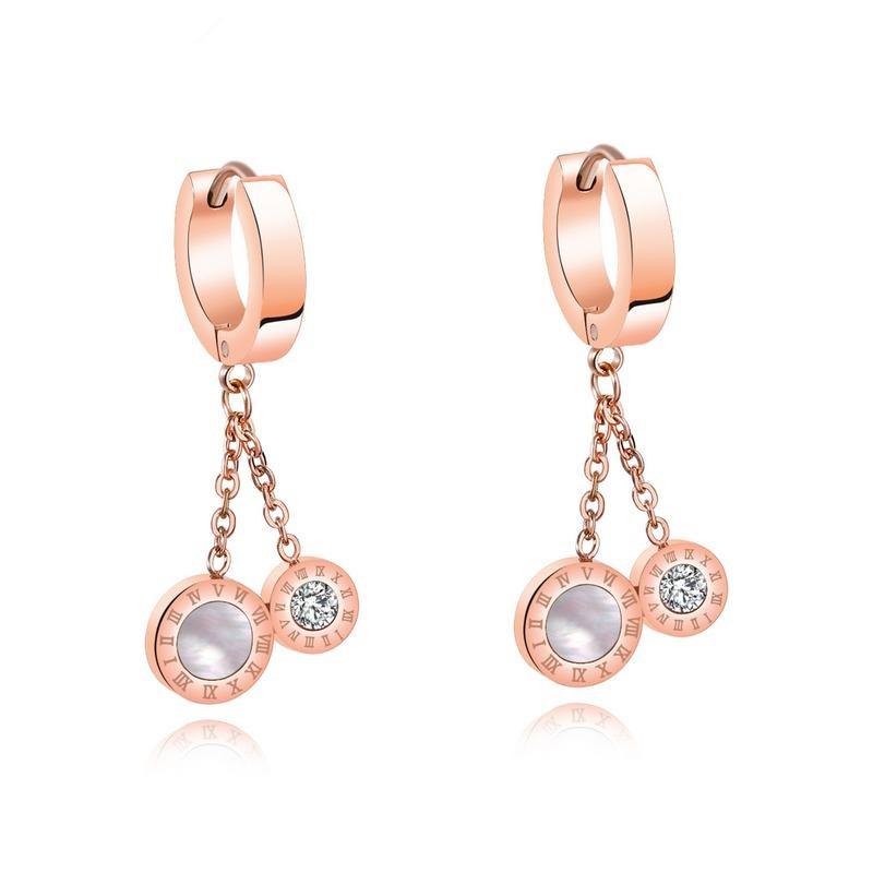 Titanium&Stainless Steel Fashion Geometric earring  (earring) NHOP2003-earring
