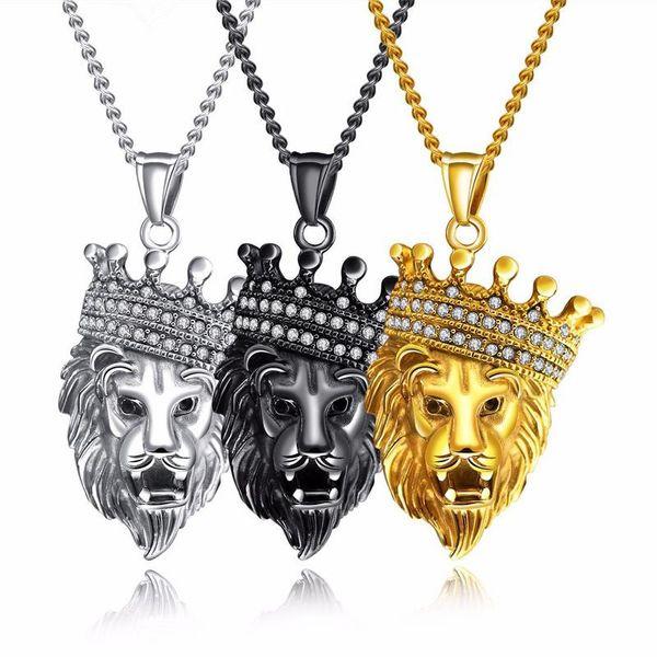 Titanium&Stainless Steel Fashion Geometric necklace  (Color pendants + chain) NHOP2036-Color pendants + chain