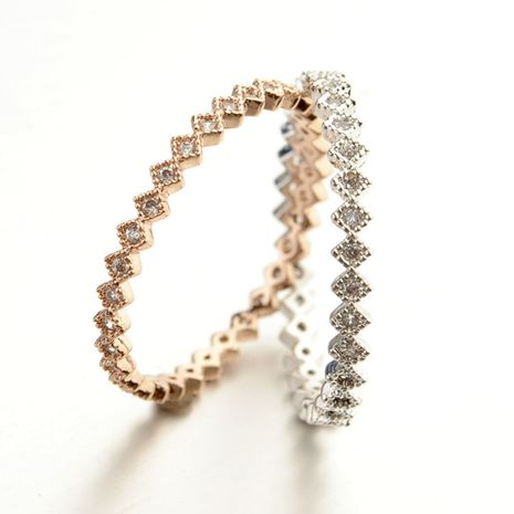 Alloy Korea Geometric Ring  (Rose Alloy - 4.5) NHLJ3754-Rose Alloy - 4.5's discount tags