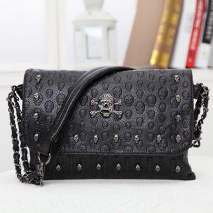 Fashion PU  Shoulder Bags  (black)  NHSK0164-black's discount tags