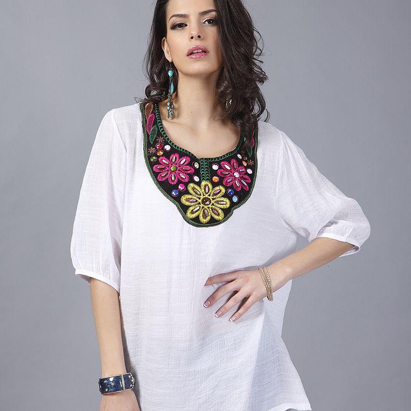 Alloy Fashion  Large Women  (White-L) NHDF0400-White-L