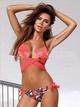 Polyester Fashion  Bikini  (Pink-S) NHXJ0119-Pink-S