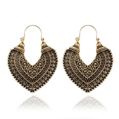 Vintage Alloy plating earring  (Ancient alloy)  NHGY1627-Ancient alloy's discount tags