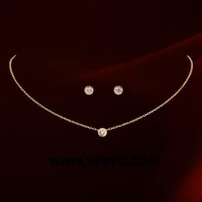 Alloy Simple  Jewelry Set  (Rose alloy) NHLJ3774-Rose alloy