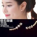 Copper Korea Geometric earring  Rose alloy NHLJ3783Rose alloy
