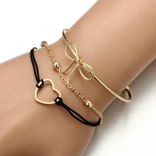 Bracelet arcs de mode en alliage (alliage) NHGY1730-alliage