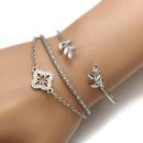 Alloy Fashion Geometric bracelet  Alloy NHGY1731Alloy
