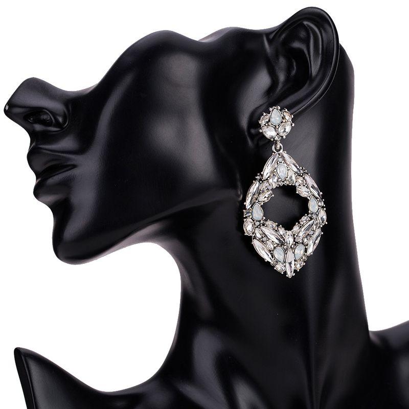 Alloy Fashion Geometric earring  (white) NHJE1198-white