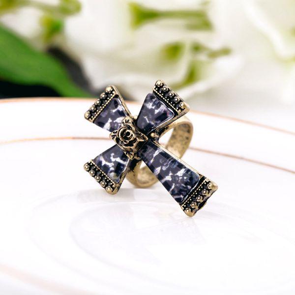 Alloy Fashion Geometric Rings  (Vintage alloy) NHQD4629-Vintage alloy