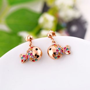 Alloy Korea Animal earring  (Photo Color) NHQD4840-Photo Color's discount tags