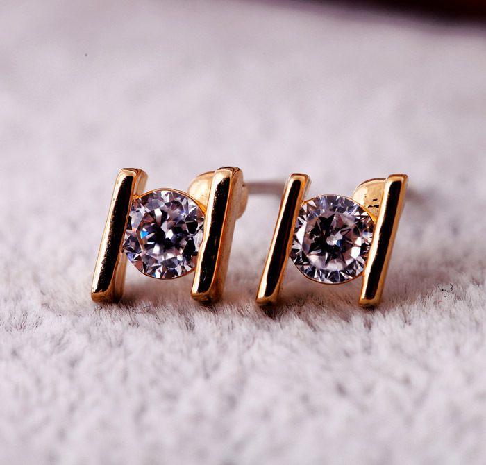 Alloy Korea Geometric earring  Alloy NHQD4894Alloy