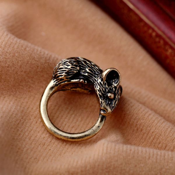 Alloy Vintage Animal Rings  (Vintage alloy) NHQD4993-Vintage alloy