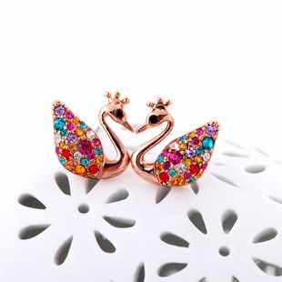 Alloy Korea Animal earring  (Photo Color) NHQD5048-Photo Color's discount tags