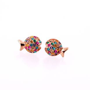 Alloy Fashion Animal earring  (Photo Color) NHQD5058-Photo Color's discount tags