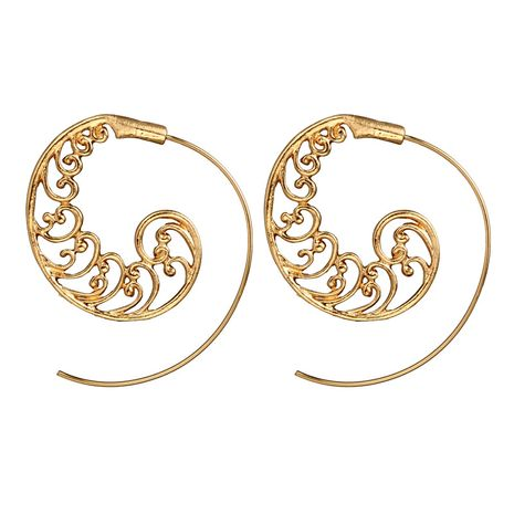 Alloy Vintage Geometric earring  (Alloy) NHGY1818-Alloy's discount tags