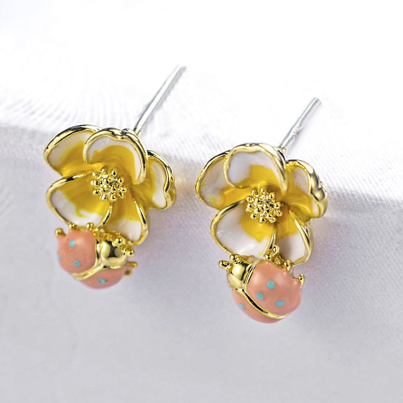 Alloy Fashion Geometric earring  (color) NHLJ3902-color