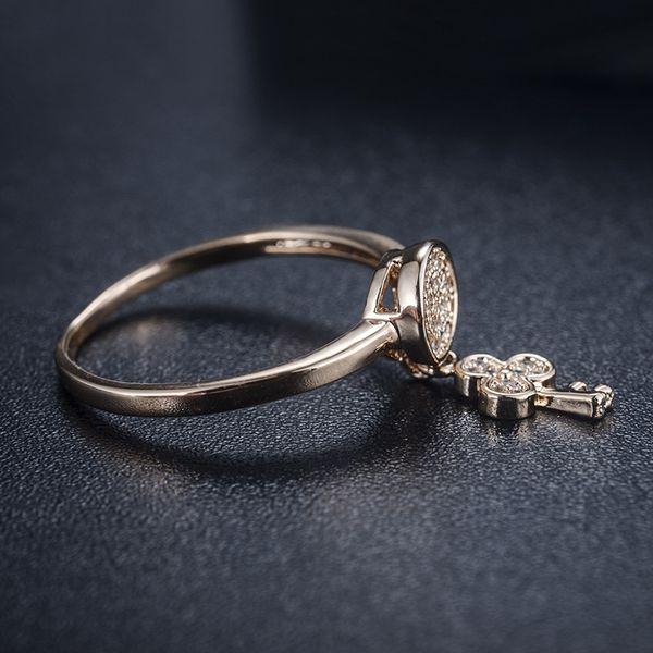 Alloy Korea Geometric Ring  (Rose Alloy-7) NHLJ3912-Rose-Alloy-7
