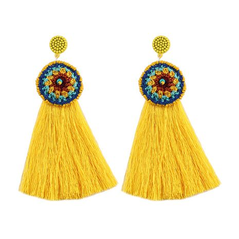 Alloy Fashion Geometric earring  (yellow) NHJQ10204-yellow's discount tags