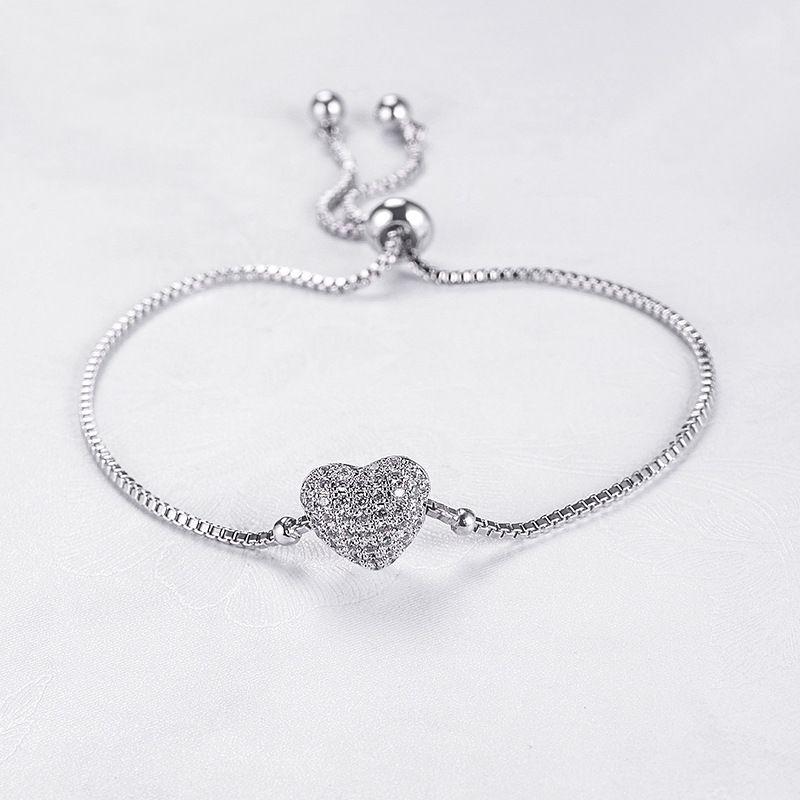 Alloy Korea Sweetheart bracelet  (Photo Color) NHLJ3924-Photo Color