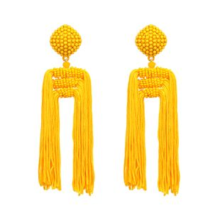 Alloy Bohemia Geometric earring  (yellow) NHJJ4671-yellow's discount tags