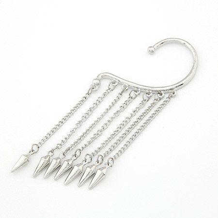 ( alloy tone ) Occident fashion tassel spike earring 201415