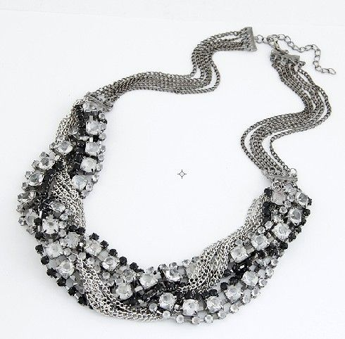 Multi chain necklace 173974