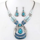 Alloy resin necklace NHNSC5234
