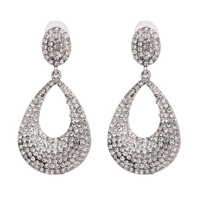 Imitated crystal&CZ Fashion Geometric earring  (50877) NHJJ4775-50877