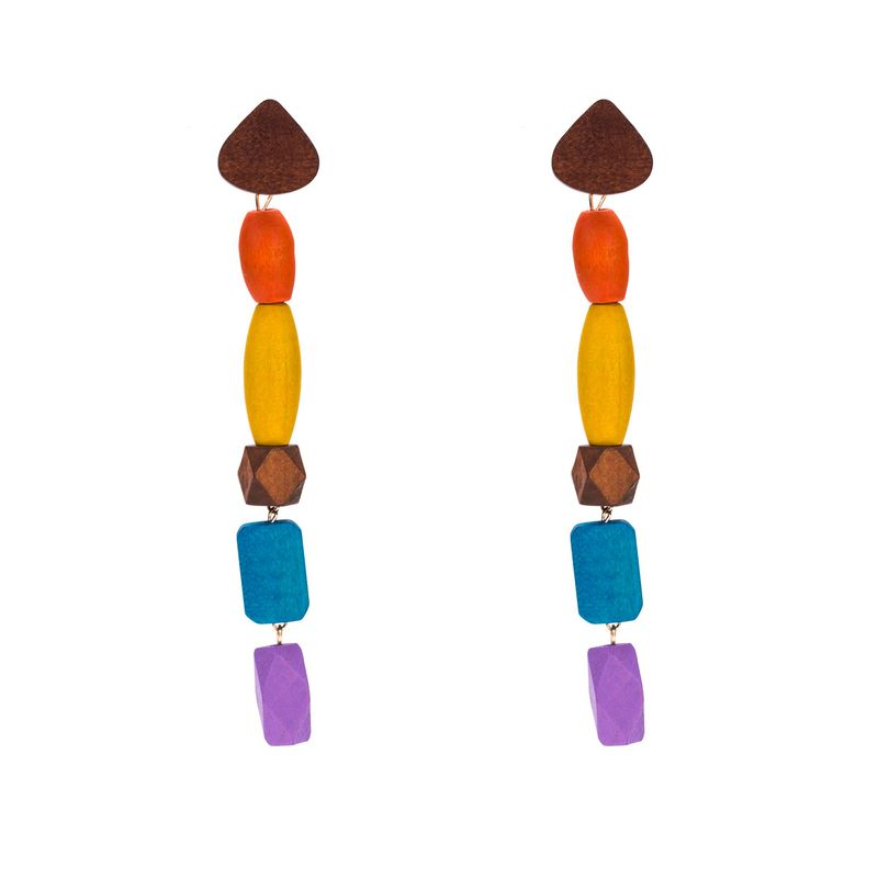 Alloy Fashion Geometric earring  (color) NHJE1399-color