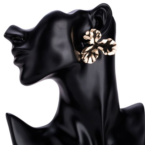 Alloy Fashion Flowers earring  (Alloy) NHJE1403-Alloy's discount tags