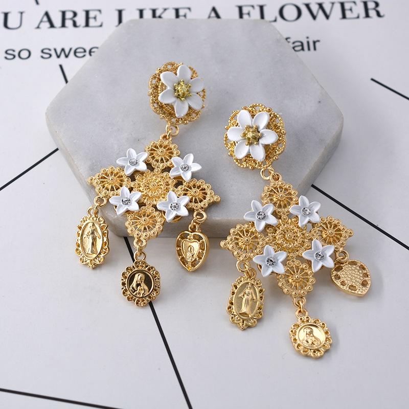 Alloy Fashion Geometric earring  Alloy NHNT0483Alloy