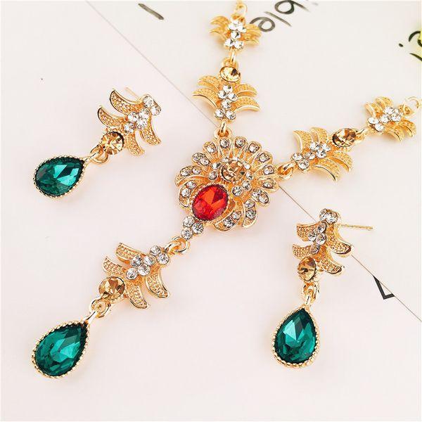 Alloy Korea  necklace  (yellow) NHVA4950-yellow