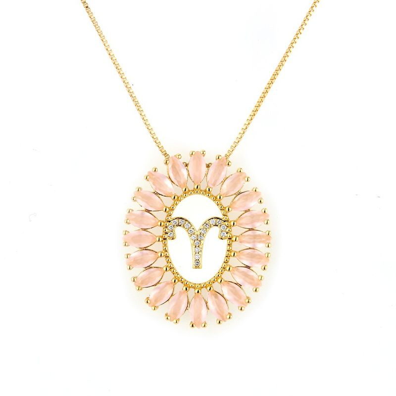 Copper Fashion Animal necklace  Aries NHBP0051Aries