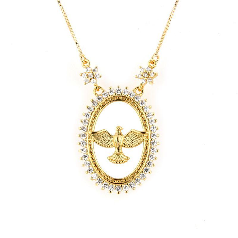 Copper Fashion Animal necklace  (Alloy) NHBP0055-Alloy