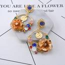 Alloy Simple Flowers earring  Alloy NHNT0479Alloy