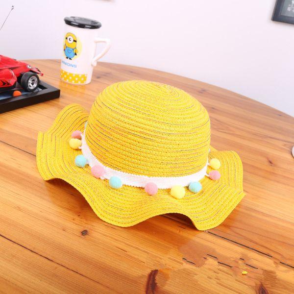 Cloth Korea  hat  (yellow) NHHY4504-yellow