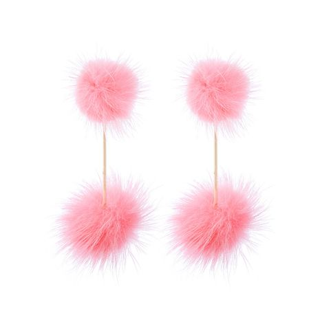 Alloy Fashion Tassel earring  (Pink-2) NHQD5180-Pink-2's discount tags
