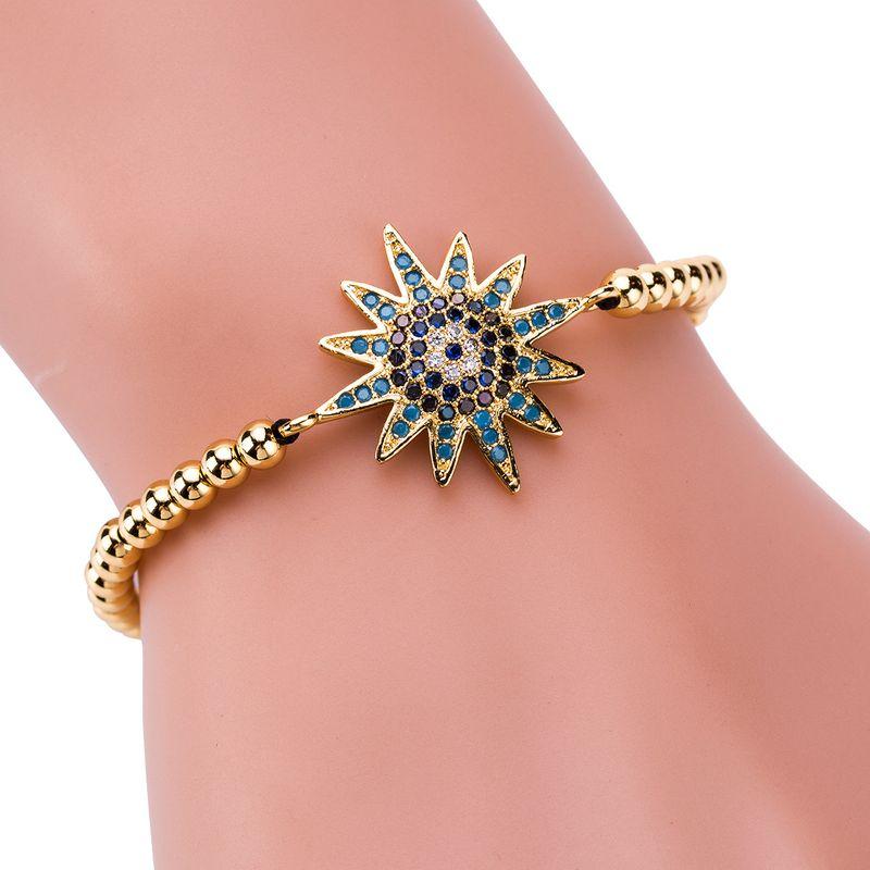 Copper Fashion Geometric bracelet  (Alloy) NHJE1308-Alloy