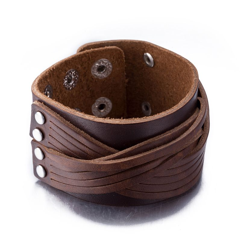 NEW Jewelry fashion Leather Cute Infinity Charm Bracelet Alloy lots Style PickD NHKL8651-B