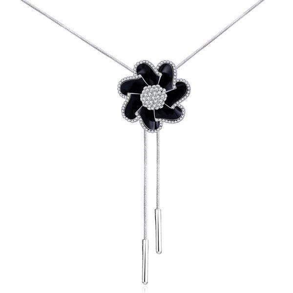 Charm Vintage Women Pendant Chain Imitated crystal Choker Chunky Collar Necklace FSN170 NHKL9005