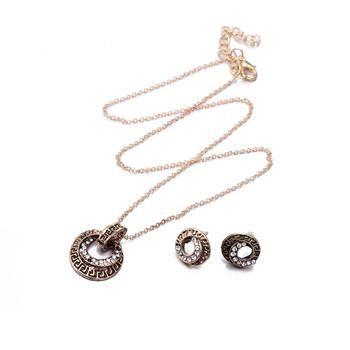 Fashion Zinc Alloy Jewelry Set NHKL11090