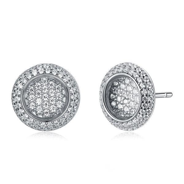Rose Alloy  Stud Earrings NHKL12661-B