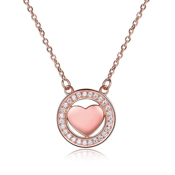 Rose Alloy  Necklaces NHKL12685-B