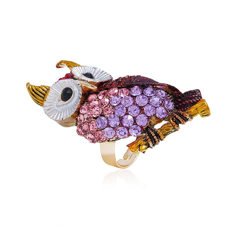 Alloy Fashion Animal Ring  (KC alloy color) NHKQ1677-KC-alloy-color