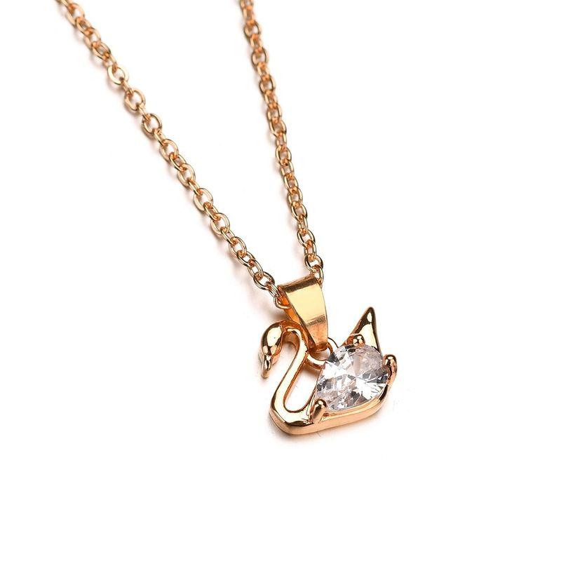 Alloy Korea Animal necklace  (Alloy) NHBQ1328-Alloy