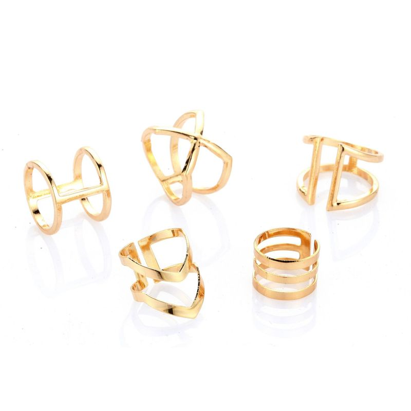 Alloy Fashion Geometric Ring  Photo Color NHGY1882PhotoColor