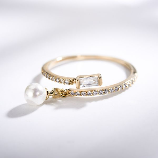 Alloy Korea Geometric Ring  (Alloy) NHLJ3985-Alloy