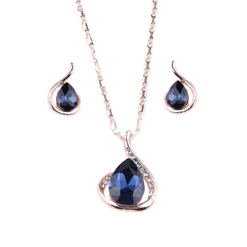 Alloy Korea Geometric necklace  (Alloy) NHJQ10349-Alloy
