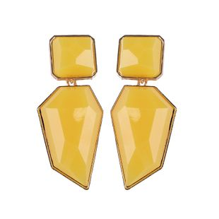 Alloy Fashion Geometric earring  (yellow) NHJQ10355-yellow's discount tags